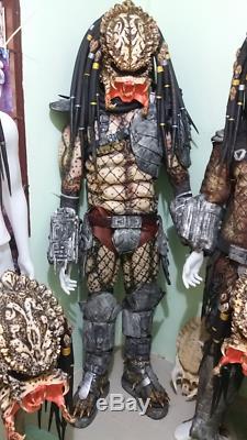 Predator Costume Mask Cosplay Latex Halloween Prop Helmet Fancy Film Dress Decor