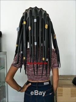 Predator Rubber Latex Mask Halloween AVP Cosplay Costume High Detail Top Quality