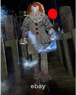 READY TO SHIP 6.5 FT Spirit Halloween Pennywise IT Clown Animatronic Prop NEW