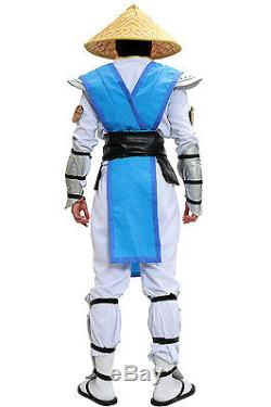 Raiden Costume Mortal Kombat X Cosplay Outfit With Props Adult Halloween Xcoser