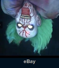 Rare Spirit Halloween Bloody Bag of Jokes Clown Animatronic Prop