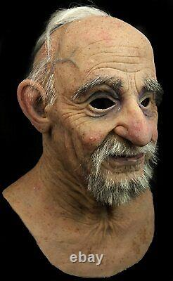 Realistic Hand Made Silicone Joaquin Mask by The Masker, Realistic, Old Man