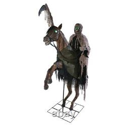 Reaper's Ride Animated Prop Haunted House Halloween