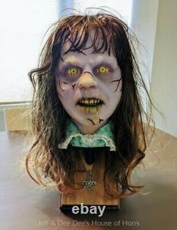 Regan Exorcist Bust Regan Prop Halloween Prop Regan From The Exorcist
