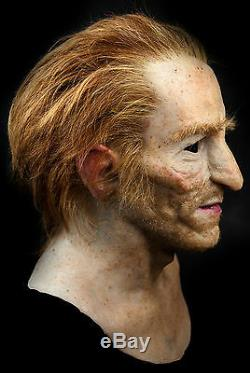 Ricardo Silicone Mask Old Man Hand Made, Halloween High Quality, Realistic