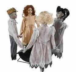 Ring Around The Rosie Animated Prop Dolls Playground Haunted House Halloween
