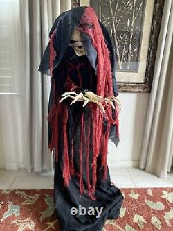 Rising Reaper Of Death Halloween Prop Spirit Halloween Animatronic LifeSize