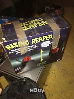 Rising Reaper Spirit Halloween Prop Animated Rare Htf Gemmy Morbid