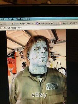 Rob Zombie Micheal Myers Spirit Halloween Prop Rare Htf Gemmy Morbid Animatronic
