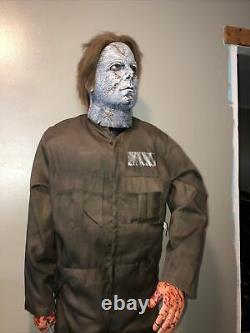 Rob zombie lifesize halloween prop animated gemmy Rare Htf Morbid Spirit HCC