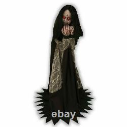 Rosemary Animated Lunging Prop Lifesize Possessed Girl Horror Halloween PRESALE