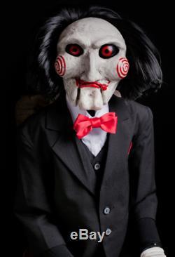 SAW movie-Billy puppet prop replicaTrick or TreatHalloween decorJigsawNew
