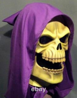 SKELETOR LATEX MASK - He Man Costume Prop He-Man Cosplay Motu Halloween