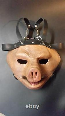ST Paul pig Slipknot style mask latex leather sublime1327 HALLOWEEN prop