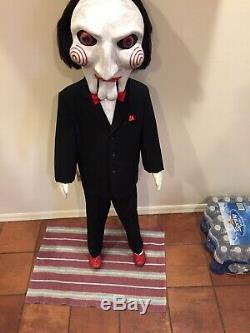 Saw Puppet Jigsaw Annabelle Doll Chucky Life Size Statue Halloween Prop 11 Mold