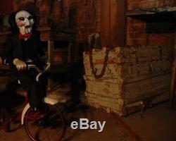 Saw Puppet Movie Prop Dummy Doll Signed Jigsaw Haunted Halloween Horror Ooak 8