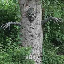 Scary Tree Man Outdoor Halloween Decoration Party Haunted House Graveyard Prop