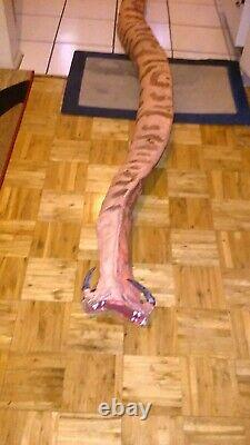 Screen used GRABOID SNAKE PROP from the TREMORS/KEVIN BACON 2018 TV PILOT