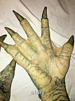Screen used SILICONE AQUATIC CREATURE HANDS. Black Lagoon/Shape of Water-esque