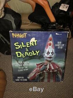 Slient But Deadly Bnib Rare Spirit Halloween Prop Htf Gemmy Animated