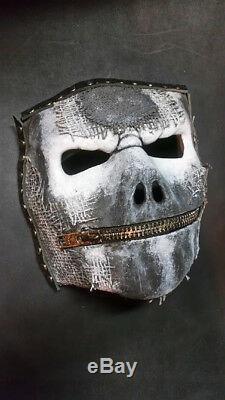 Slipknot Jay Weinberg mask latex Halloween costume prop fetish metal music