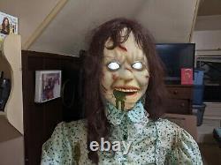 Spirit Exorcist Regan Life Size Halloween Prop Morbid Enterprises Animated Works