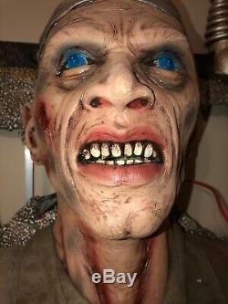 Spirit Halloween Frankencuted Used Gemmy Morbid Halloween Prop Rare Htf