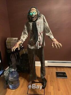 Spirit Halloween Lurching Zombie Animatronic