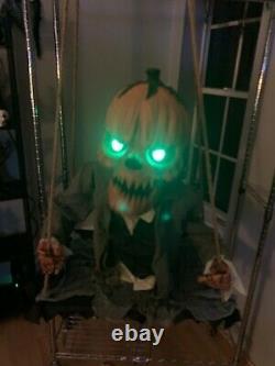 Spirit Halloween Pumpkin Nester Animatronic 2013 Rare Prop Horror