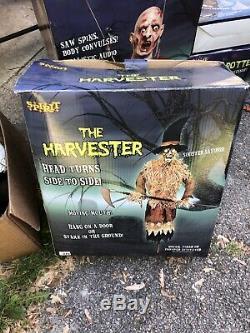 Spirit Halloween The Harvester Gemmy Bnib Morbid Magic Power Animatronic Prop