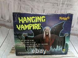 Spirit Halloween large hanging vampire rare lights