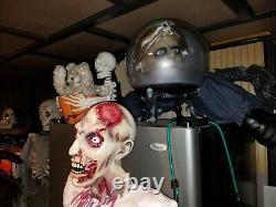 Spirit lifesize bloody zombie man hand halloween prop berzerker
