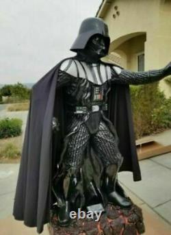 Star wars halloween Darth Vader Statue Skywalker 84 Life Size Prop Replica