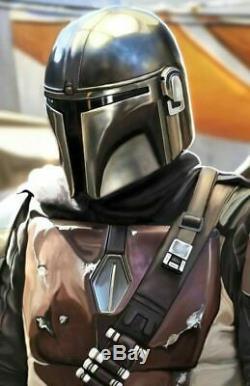 The Mandalorian Helmet Cosplay Mask Costume Prop Star Wars 11 Replica Halloween