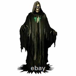 Towering Reaper Animated Prop 10 FT Lifesize Haunted House Halloween PRESALE