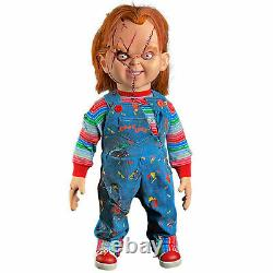 Trick or Treat Studios Seed Chucky Movie Replica Doll Halloween Decor 11 Scale