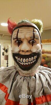 Twisty The Clown Static Prop Not Animated Evil Clown Over 6 Ft Tall Spirit Gemmy