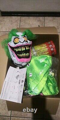 Ultra Rare Halloween prop WACKY MOLE CLOWN. Animated Spirit FINAL PRICE DROP