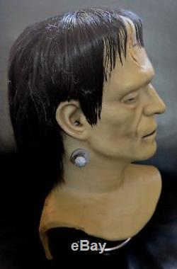 Universal Studios Theme Park Walkaround FRANKENSTEIN Monster Mask Don Post Spook
