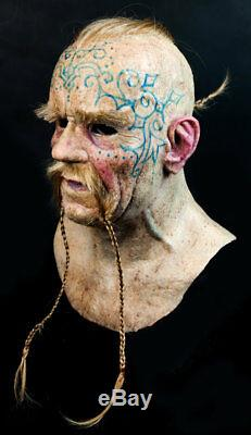 Viking Jarl Silicone Mask High Quality, Unique Active Realistic Halloween