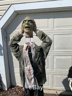 Vintage Gemmy Lifesize (6 Ft) Talking Animatronic Halloween Heads Up Harry