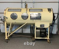 Vintage Rare Iron Lung Very Clean Make Awesome Halloween Prop Museum Hard Find