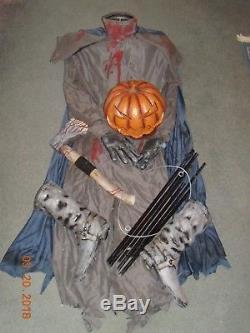 Vintage Spirit Halloween Life size Headless Horseman Prop