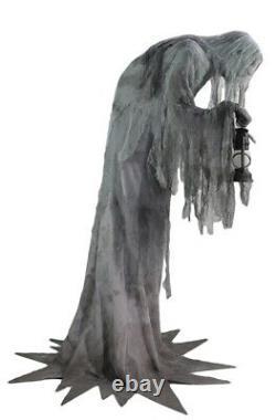 Wailing Phantom Animated Prop Life Size Halloween Scary Ghost Haunted House