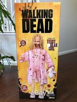 Walking Dead Teddy Bear Girl 5 Foot Tall Animatronic