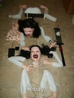 Wicked BLOODTHIRTSY BETTY GIRL Animatronic RARE PROTOTYPE PROP Figure WORKS