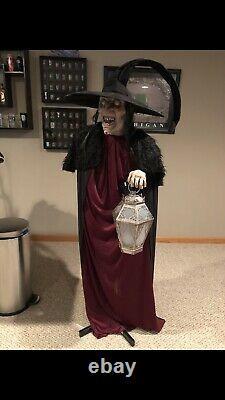 Witch Of Stolen Souls Spirit Halloween Prop Rare Htf Gemmy Morbid