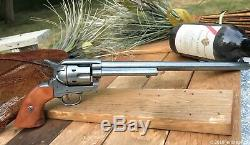 Wynonna Earp Peacemaker All Metal & Wood Replica Prop Revolver Cosplay Halloween