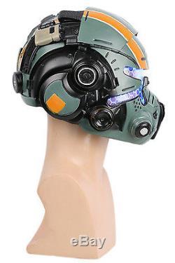 XCOSER Jack Cooper Helmet Halloween Cosplay Costume Props Mask for Titanfall 2
