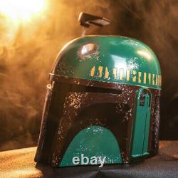 Xcoser Boba Fett Resin Helmet Cosplay Mask Costume Props Halloween Dressing Up